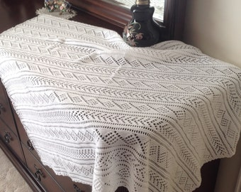 Blessing or Christening shawl