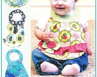 Super Bowl Sale Pattern - Diva Babies Beautiful Bibs Paper Sewing Pattern by Vanilla House Designs