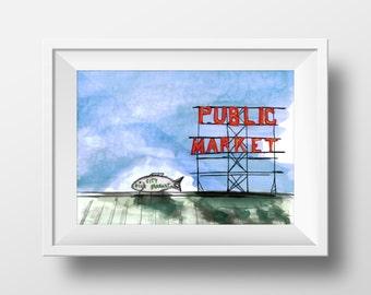 Pikes Place Market | Seattle, WA