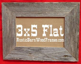 3x5 wholesale lot of 10 1 12 flat unfinished rustic barn wood aged weathered primitive barnwood photo picture frame 3 x 5 frames