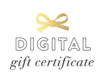 EHD Co. Gift Certificate