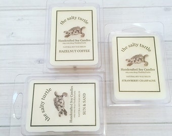 Wax Melts of the Month Club - Handcrafted Soy Wax Melts 6 Months Subscription - FREE SHIPPING