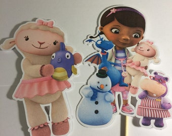 Doc McStuffins Birthday Party Characters