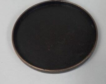 Large copper pendant