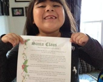 Letter From Santa!