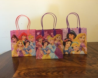 Princess Birthday party bags