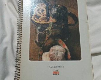 Time Life Foods of the World Recipes American Cooking:The Eastern Heartland Paperback Spiral Book