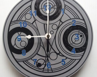 Doctor Who Timelord symbol clock