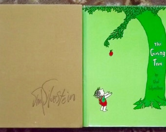 The Giving Tree and Where the Sidewalk Ends by Shel Silverstein