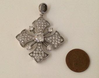 Joseph esposito magnetic maltese cross pendant only