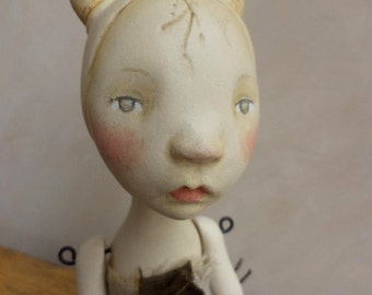 Ara, Clay Doll, art doll