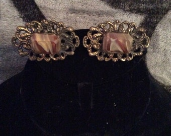 Vintage cuff links 1-1/2 in