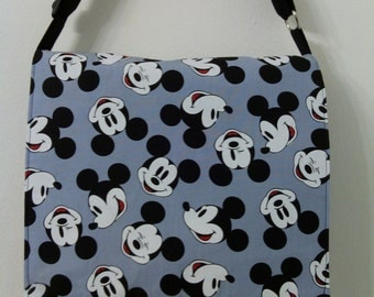 Mickey Mouse Child Size Inspired Messenger, Cross Body Bag