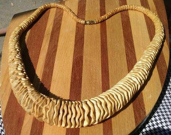 Vintage Necklace wood beads