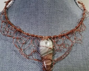 Wire Wrapped Choker