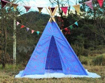 tipi / tepee / tipi / teepee Tent Animals . 4 POLES INCLUDED