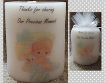 Precious Moments baby shower, favors, centerpieces, decorations