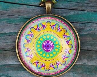 The Love mandala pendant