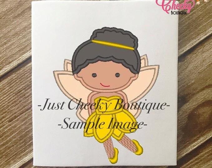 SAMPLE SALE, Disney Fairy Iridessa Cutie Inspired Embroidered Shirt - Disney Fairies Girls Shirt - Disney Fairy Birthday Shirt