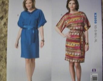 Kwik Sew K3956 Misses (XS-S-M-L-XL) dress and belt