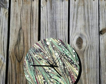 Patterned Modern Wall Clock