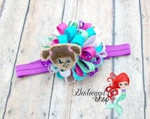 "Monsters inc, boo loopy bow"" by GirlieGirls's Shop   ,hair bow"