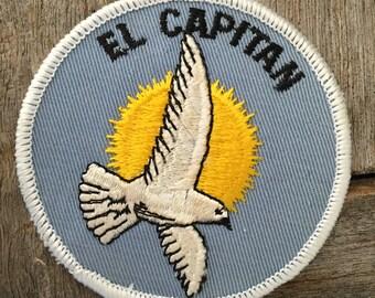 El Capitan Vintage Souvenir Patch