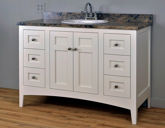 Items Similar To Shaker Mission Style Bathroom Vanity