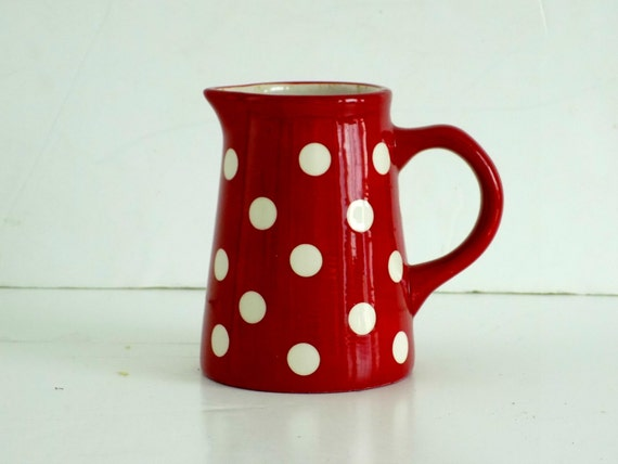 Lovely english laura ashley spotted red with white polka dots - Laura ashley sevilla ...