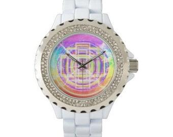 Women's White Watch