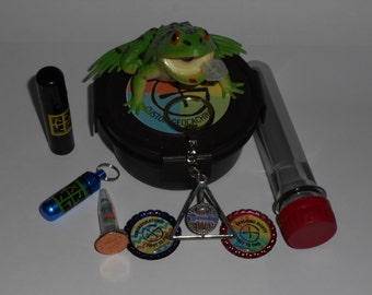 Geocache Container Gift / Starter Set - Containers with Trade Items