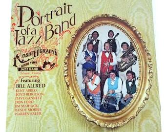 Portrait of a Jazz Band Rosie O'Grady's Goodtime Jazz Band Florida Vinyl LP Record TC 1149a
