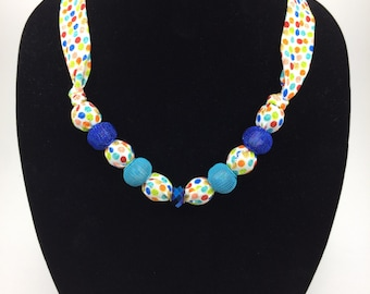 Dots and Dabs Necklace