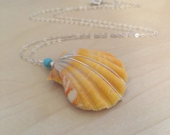 Sunrise Shell Necklace, Moonrise Shell Necklace, Hawaii Shell Necklace sale
