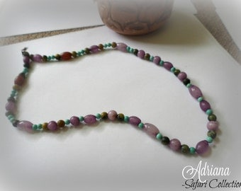 Simple Natural Stone Necklace
