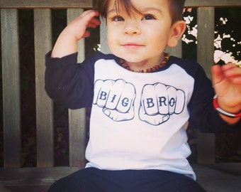Promoted to Big Brother Shirt - Big Brother Shirts - Announcement Shirts - Big Brother to Be - Pregnancy Announcement - Big Bro
