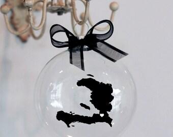 Haiti Christmas Ornament, Custom, Adoption, Travel