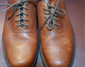 Men's Leather Oxfords Size 10.5