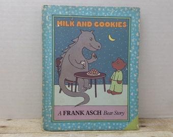 Milk and Cookies, 1982, Frank Asch, vintage kids book