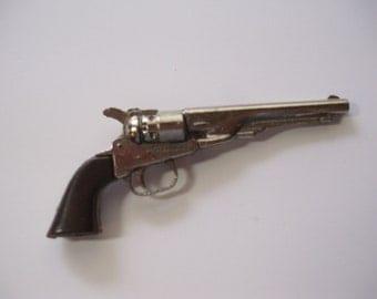 Vintage Miniature Toy Cap Gun, Miniature Gun, Toy Gun, Toy Pistol, Zee Toys, Old Timer Cap Gun, Miniature Pistol, Miniature Cap Gun