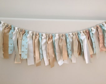 Mint and Gold Deer Garland by Lillypaul Designs