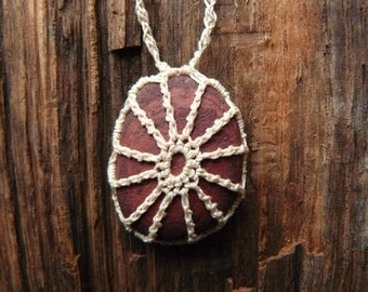 River Rock Jewelery . River Rock Necklace . Bohemian necklace . Bohemian jewelry