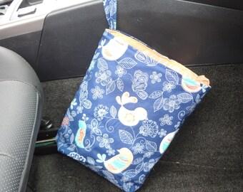 Hand Made Car Trash Bag Litter Bag  With Disposable Liner