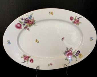 ROSENTHAL THOMAS Oval Serving Plate - PAT 3557
