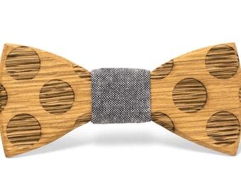 "Wood Bow tie - ""Earl"""