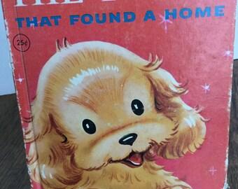 The Puppy That Found a Home, vintage children's book, Junior Elf Book