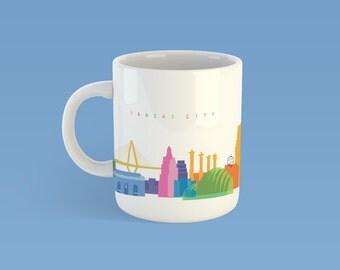 Kansas City Panoramic Mug
