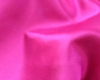 Geranium Satin Fabric
