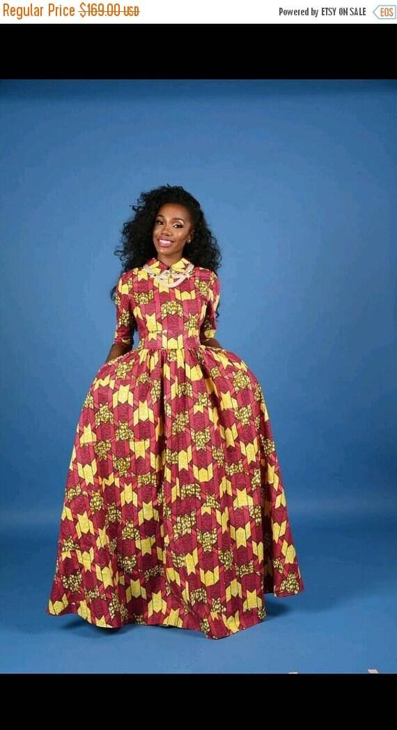 SALE NEW Vintage Nki Maxi Dress