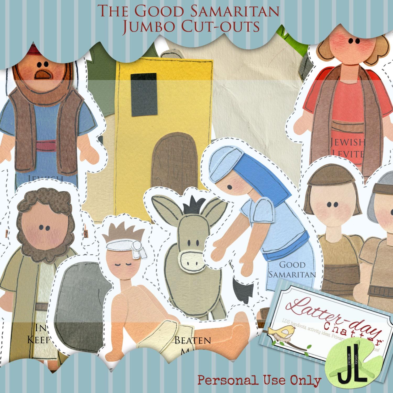 The Good Samaritan Coloring Pages |The Good Samaritan For Preschoolers